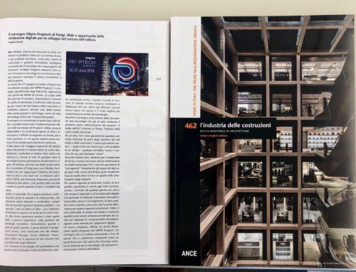 Angelica Donati talks about the MIPIM Proptech of Paris in the ANCE magazine