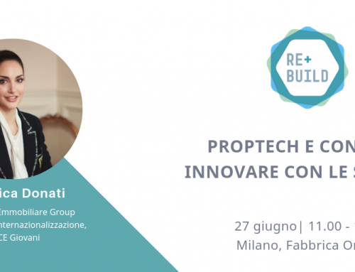 Proptech and Contech: Angelica Donati at the panel of REbuild in Milan