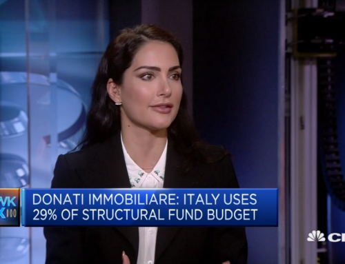 Angelica Donati a CNBC International sulle infrastrutture in Italia