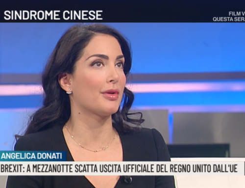 Angelica Donati's interview with Agorà – Rai 2 on Brexit