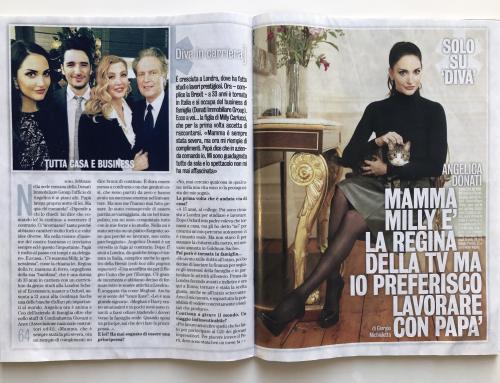 """Angelica Donati su """"Diva e Donna"""""""