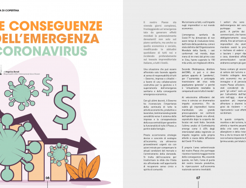 "The consequences of coronavirus  – Column on ""Quale Impresa – GI Confindustria"""