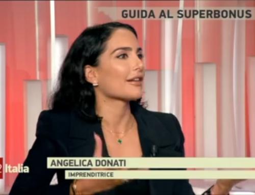 Angelica Donati a TG2 Italia sul superbonus