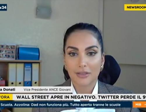 "Angelica Donati a ""NEWSROOM Italia"" su RaiNews24"